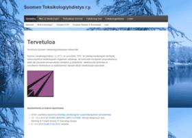 toksikologit.fi