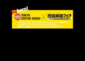 tokyoguitarshow.jp