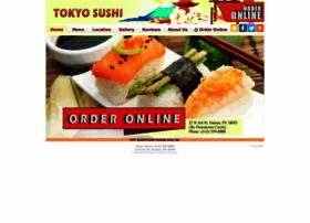 tokyosushieaston.com