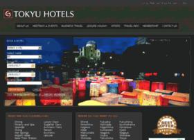 tokyuhotels.com