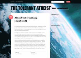 tolerantatheist.wordpress.com