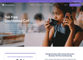 tollfreeconference.com