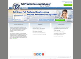 tollfreeconferencecall.com