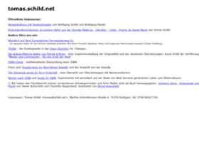 tomas.schild.net