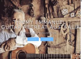 Tommyemmanuelguitarretreat.com