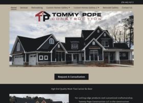 tommypopeconstruction.com