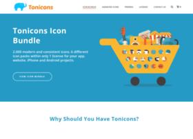 tonicons.com