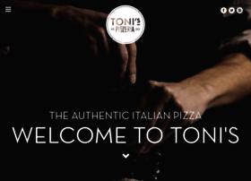 tonispizzeria.co.uk