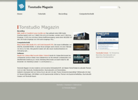 tonstudio-magazin.de