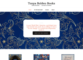 tonyaboldenbooks.com
