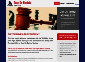 tonydebartolotaxlaw.com