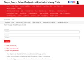 tonys-soccer-school.net