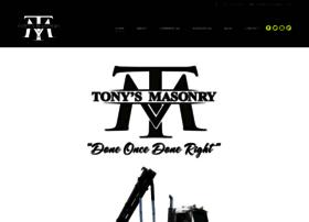tonysmasonry.com