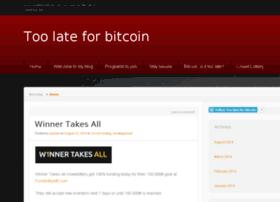 toolateforbitcoin.com