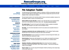 toolkit.rescuegroups.org