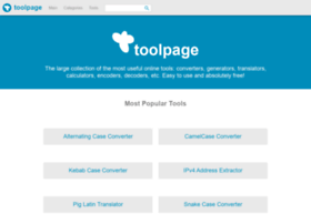 toolpage.org