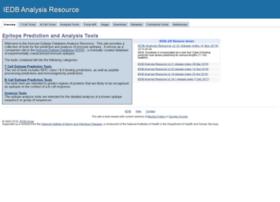 tools.immuneepitope.org