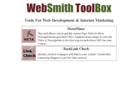 tools.websmithtech.in