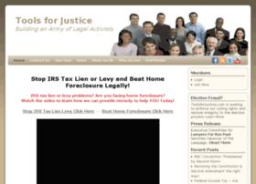toolsforjustice.com