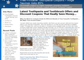 toothpastecouponshq.com