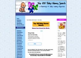 top-100-baby-names-search.com