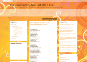 top-bookmarking-site-list.blogspot.in