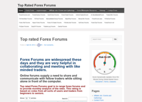 top-rated-forex-forums.com