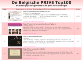 top100prive.be