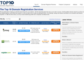 top10domainregistration.com