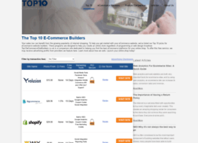 top10ecommercesitebuilders.co.uk