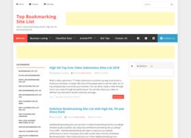 topbookmarkingsite.com
