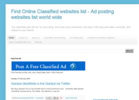 topclassifiedsiteslist.blogspot.in