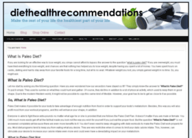topdietandhealthrecommendations.org