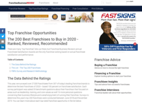 topfranchises.franchisebusinessreview.com