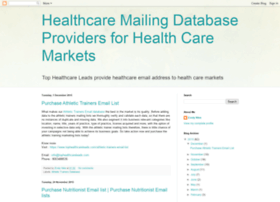tophealthcareleadsdatabase.blogspot.in