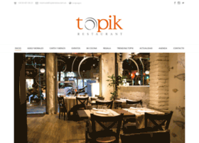 topikrestaurant.es