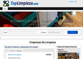 toplimpieza.com
