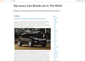 topluxurycarsbrandslistintheworld.blogspot.co.id