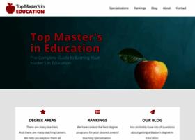 Topmastersineducation.com