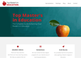 topmastersineducation.com