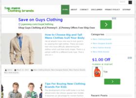 topmensclothingbrands.com