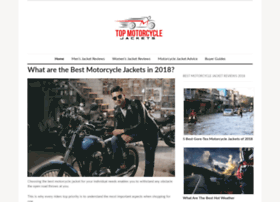 topmotorcyclejackets.com