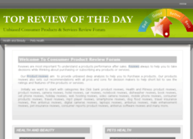topreviewoftheday.com