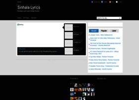 topsinhalalyrics.blogspot.com