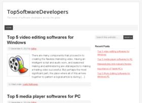 topsoftwaredevelopers.com