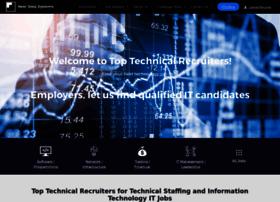 toptechnicalrecruiters.com