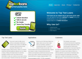 Toptextloans.co.uk