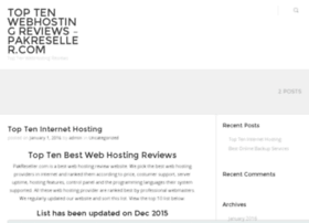 topwebpagelist.pakreseller.com