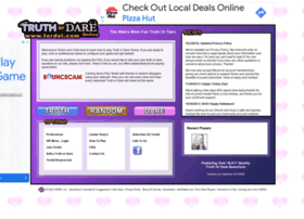 Play Truth or Dare Online. Truth or Dare Ideas. Truth or Dare Stories.