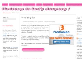 toriscoupons.com